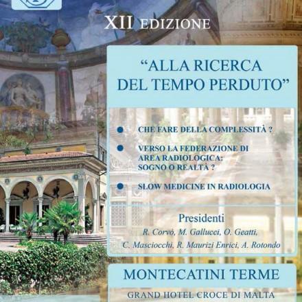 Le Giornate Radiologiche di Montecatini  6-7 Novembre  2014