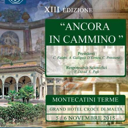 Le Giornate Radiologiche di Montecatini  XIII Edizione – 5/6 Novembre  2015