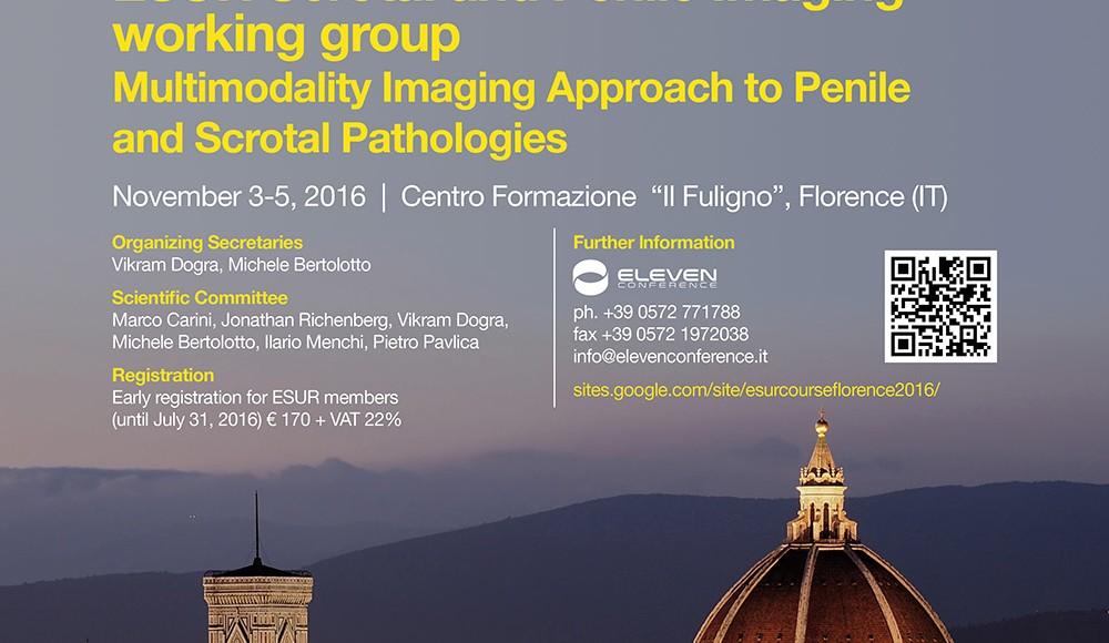 ESUR Course  2016   Florence, November  3-5, 2016