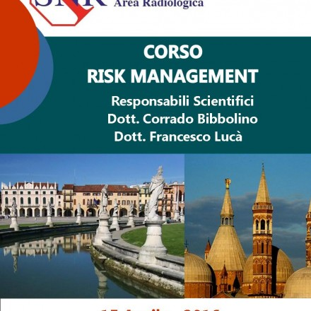 Corso Risk Management  Padova 15 Aprile  2016