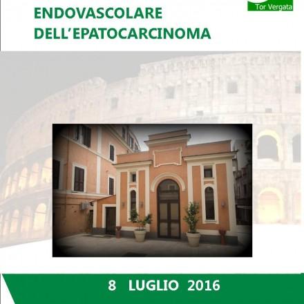 Focus sul Trattamento Endovascolare dell'Epatocarcinoma, Roma 8 Luglio  2016