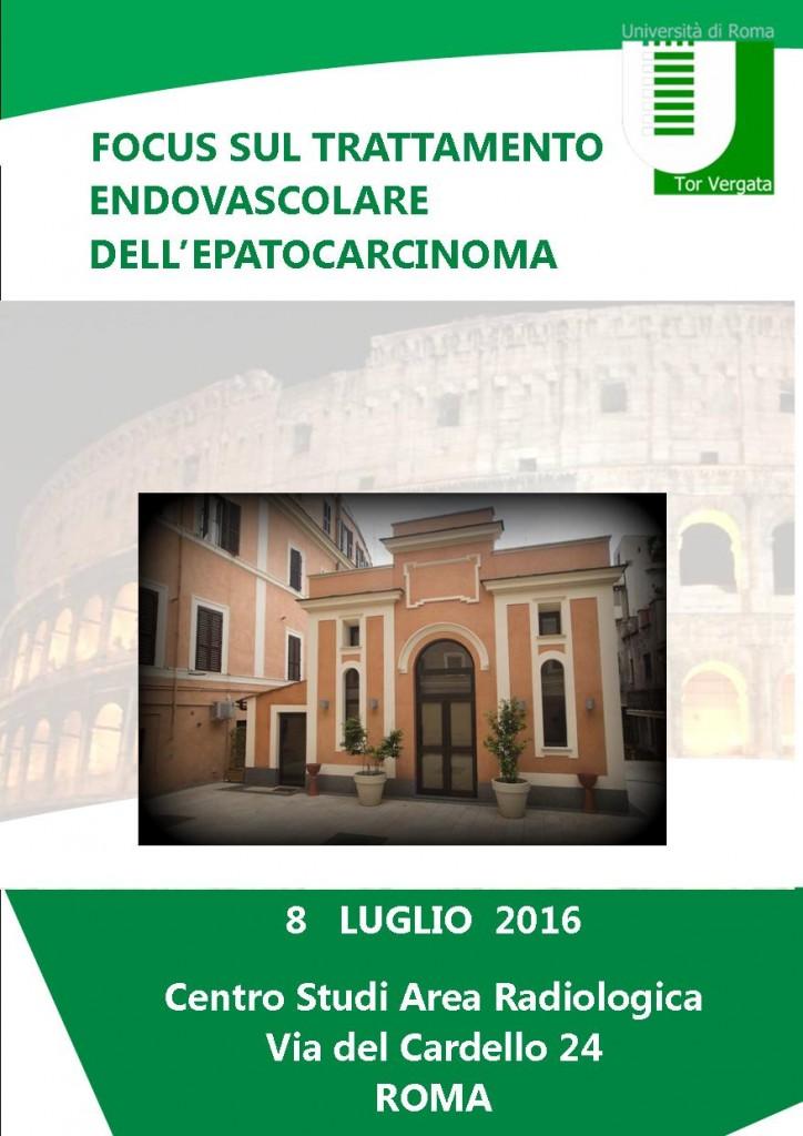 Epatocarcinoma 8 Luglio