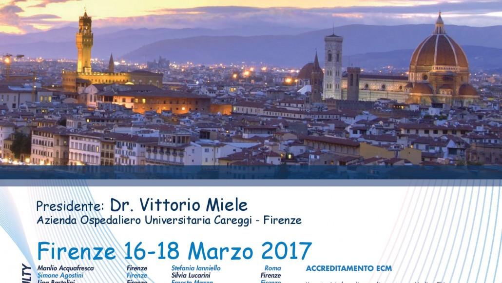 """""""La Malattia Trauma""""  dall'Imaging alla Gestione""""   Firenze, 16/18 Marzo  2017"""