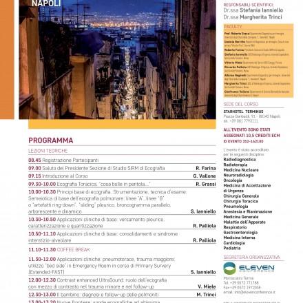 Training Formativo in Ecografia Toracica,  Napoli  7 Aprile 2017