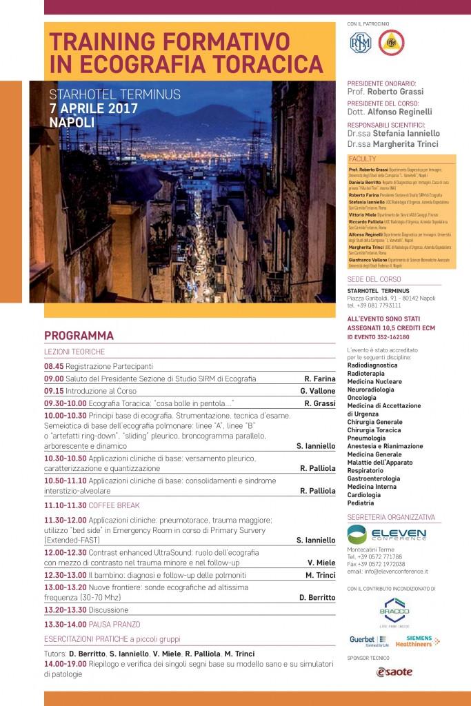 Locandina Napoli 7 Aprile