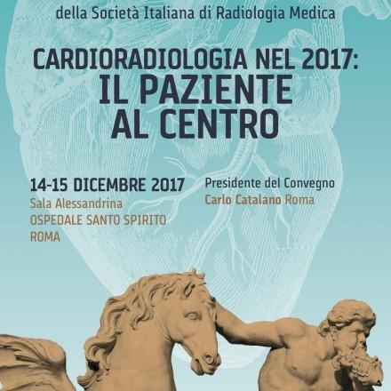 Cardioradiologia nel  2017: IL PAZIENTE AL CENTRO  – Roma  14-15 Dicembre  2017