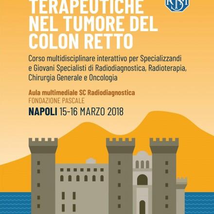 Strategie Terapeutiche nel Tumore del Colon Retto – Napoli, 15-16 Marzo 2018