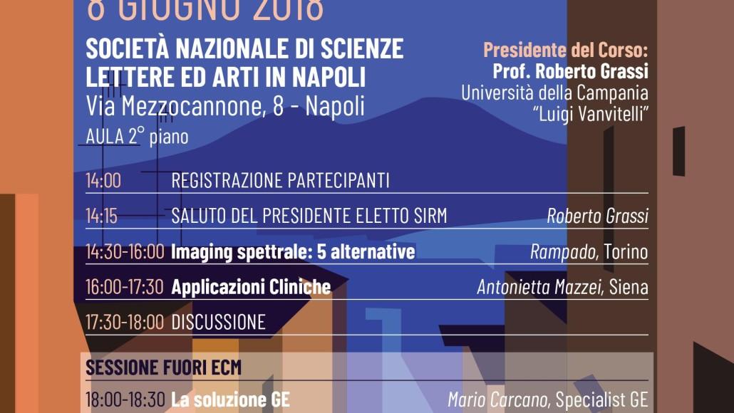 Caratterizzazione Tissutale con TC Spettrale: la TC come la RM?  Napoli, 8 Giugno 2018