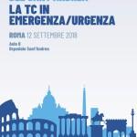 I SEMINARI RADIOLOGICI DEL SANT'ANDREA   –   LA TC IN EMERGENZA/URGENZA  –  Roma 12 Settembre  2018