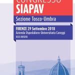 Congresso SIAPAV  Sezione Tosco-Umbra, Firenze  29 Settembre  2018