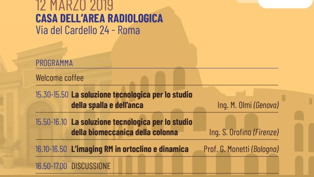 La Soluzione Tecnologica di ESAOTE per le Apparecchiature RM Settoriali, Roma  12 Marzo  2019