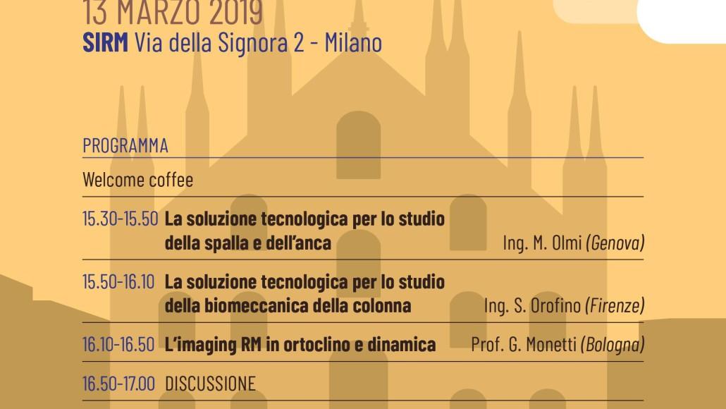 La Soluzione Tecnologica di ESAOTE per le Apparecchiature RM Settoriali,  Milano 13 Marzo  2019