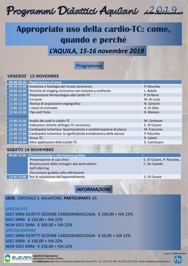 15-16 Novembre L'Aquila