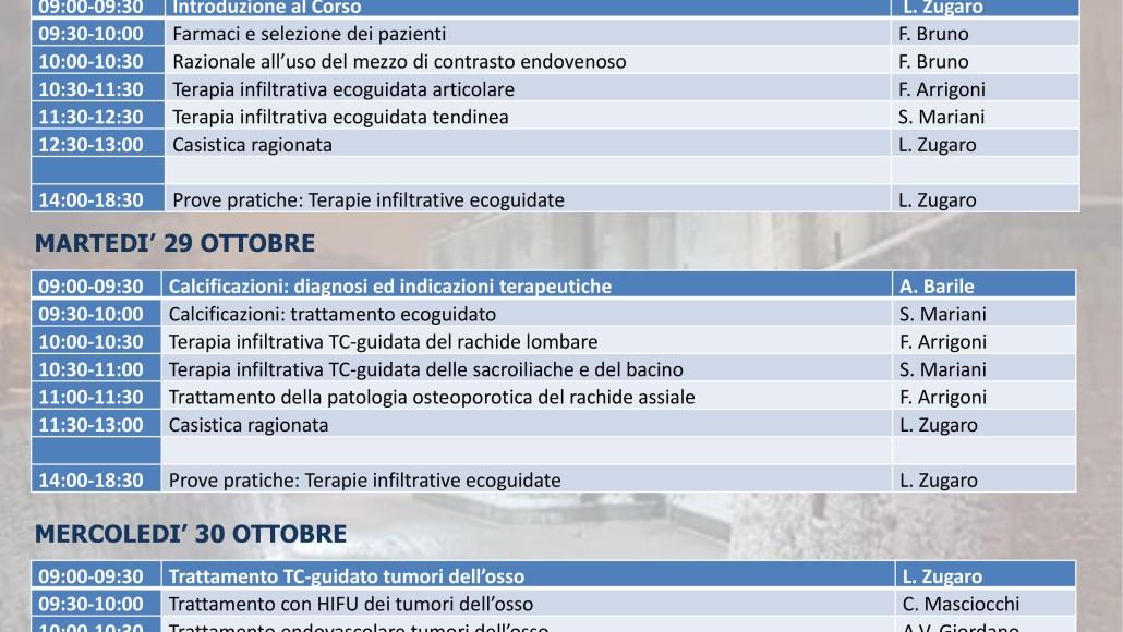 Programmi Didattici Aquilani  2019 –  28-30 Ottobre   2019 L'AQUILA