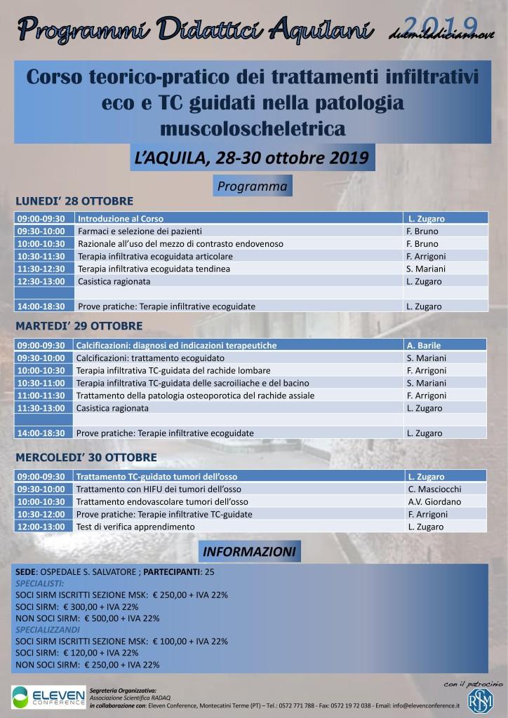 28-30 Ottobre L'Aquila