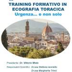 """Training Formativo in Ecografia Toracica  """"Urgenza…e non solo""""  Firenze, 25  Settembre  2019"""