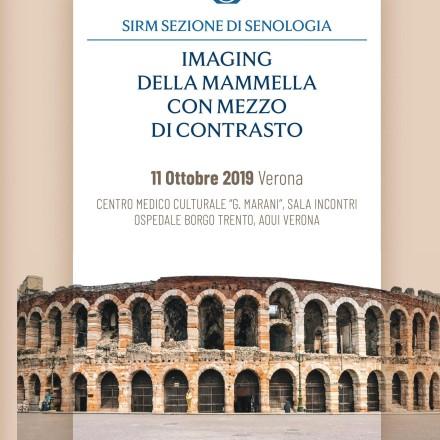 Imaging della Mammella con Mezzo di Contrasto – Verona  11 Ottobre  2019
