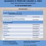 RM DEL GINOCCHIO: quando e perchè usare il MDC – 14/28  Dicembre  2020