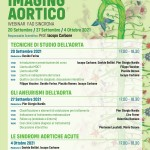"""WEBINAR   """"IMAGING AORTICO""""  20 Settembre – 27  Settembre – 4 Ottobre  2021"""